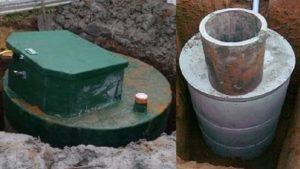 Септик из бетонных колец или из пластика